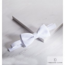 Mucha do koszuli standardowej Velcro WHITE