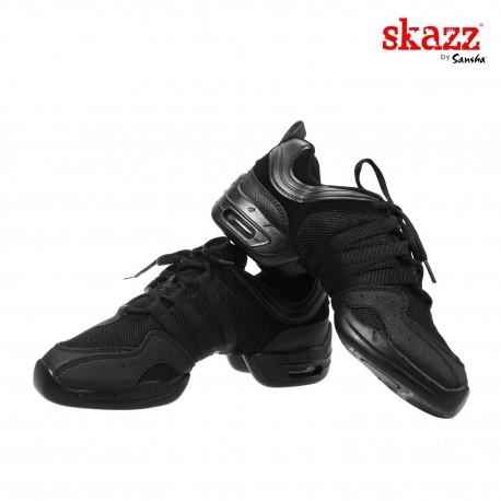 Buty treningowe - Sneakery Sansha Tutto Nero [podeszwa z gumy]
