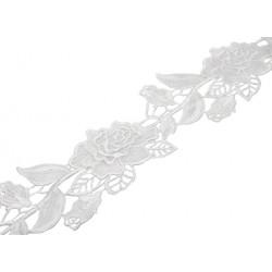 Gipiura Rosa ribbon ANTIQUE WHITE