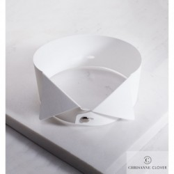Kołnierzyk wys.3,5cm do koszuli standardowej WHITE