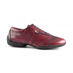 Buty codzienne PortDance PD PIETRO STREET BORDEAUX LEATHER