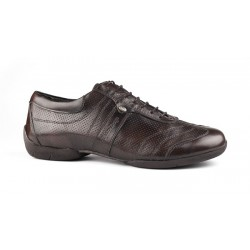 Buty codzienne PortDance PD PIETRO STREET BROWN LEATHER