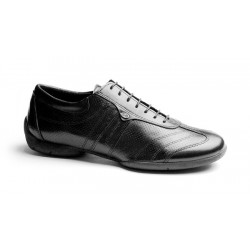 Buty codzienne PortDance PD PIETRO STREET BLACK LEATHER
