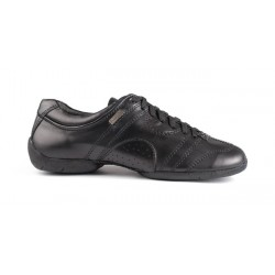 Buty codzienne PortDance PD CASUAL BLACK LEATHER