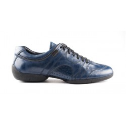 Buty codzienne PortDance PD CASUAL BLUE LEATHER