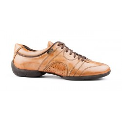 Buty codzienne PortDance PD CASUAL CAMEL LEATHER