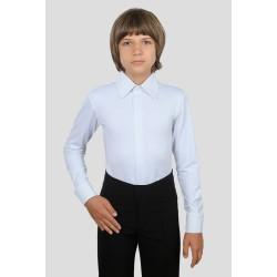 Koszula body do tańca towarzyskiego standardu lycra