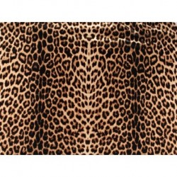 Animal Print on luxury crepe po obydwu stronach