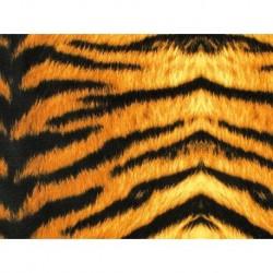 Tiger Print on lycra brown-black