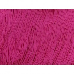 Frędzle stretch fringe Tactel 15cm ELECTRIC PINK