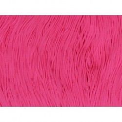 Frędzle stretch fringe Tactel 15cm PINK FIZZ