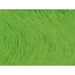 Frędzle stretch fringe Tactel 30cm FLUORESCENT GREEN
