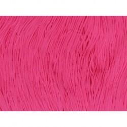 Frędzle stretch fringe Tactel 30cm PINK FIZZ