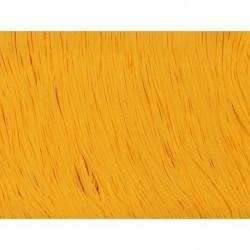 Frędzle stretch fringe Tactel 30cm SAFFRON