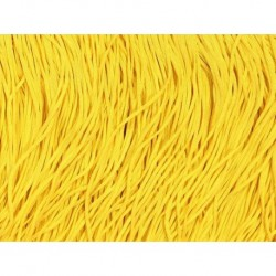 Frędzle stretch fringe Tactel 30cm SASSY YELLOW