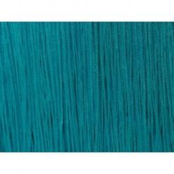 Frędzle fringe Tactel 15cm BLUE ZIRCON