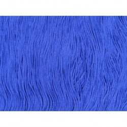 Frędzle fringe Tactel 15cm BLUEBERRY