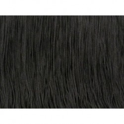 Frędzle fringe Tactel 45cm BLACK