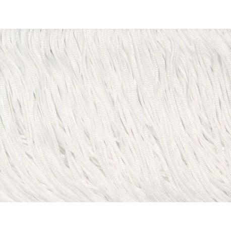 Frędzle fringe Tactel 60cm WHITE