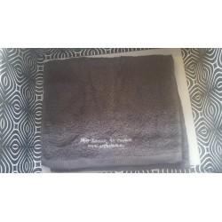 Ręcznik treningowy frote szary 50cm x 30cm