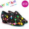 Buty treningowe damskie HEATHER SPLIT - ART ATTACK