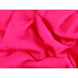 Satin Georgette PINK TROPICANA