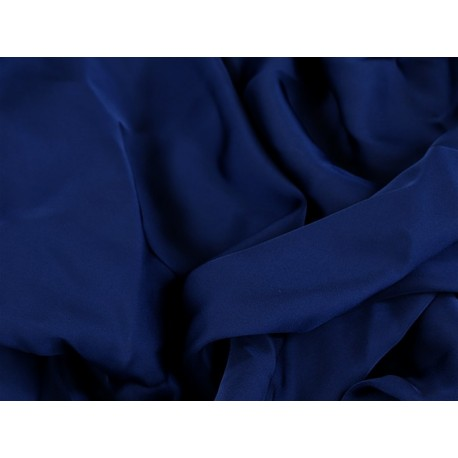 Satin Georgette MIDNIGHT SKY