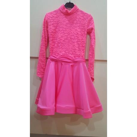 Sukienka dwu-stylowa z koronką CERISE