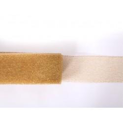 METALLIC CRINOLINE 40MM GOLD ON GOLD