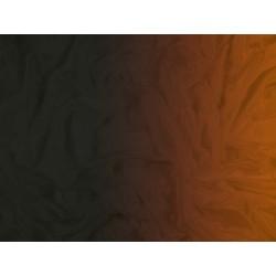 Cieniowany Satin Chiffon BLACK TO CAPPUCCINO