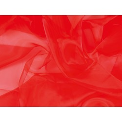 ORGANZA HOT RED