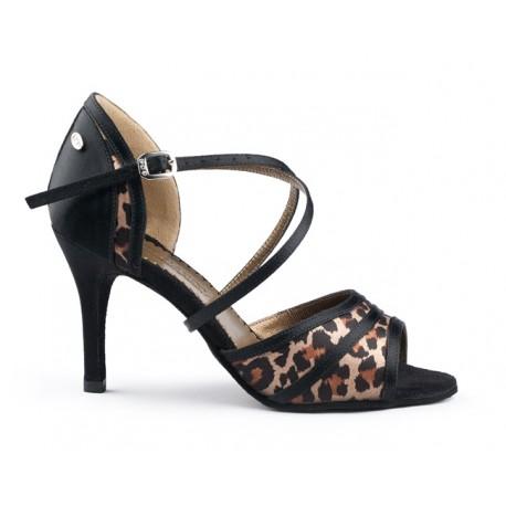 Buty damskie do tanga leopard PortDance PD506