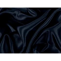 Satin Chiffon BLK  -  BLACK