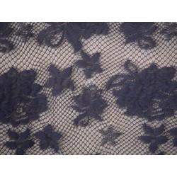 Koronka  Rose STRETCH LACE kolor HEMATITE