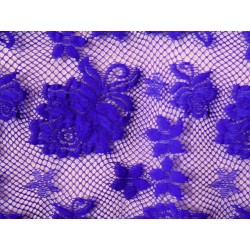 Koronka  Rose STRETCH LACE kolor BLUEBERRY