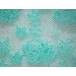 Koronka  Rose STRETCH LACE kolor AQUA