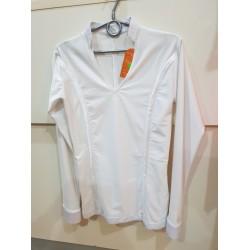 Koszula do łaciny lycra BIAŁA