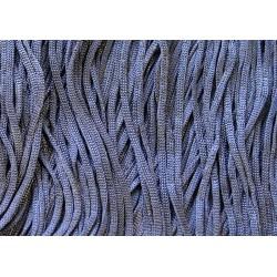 Frędzle stretch fringe Tactel 30cm HEMATITE
