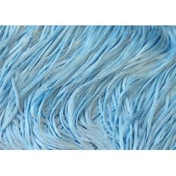 Frędzle fringe Tactel 15cm ICE BLUE