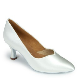 Buty damskie do standardu ICS SUPERSTAR WHITE SATIN