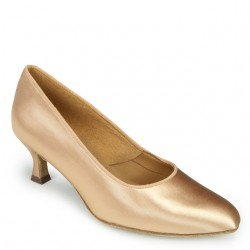 Buty damskie do standardu ICS ROUNDTOE FLESH SATIN