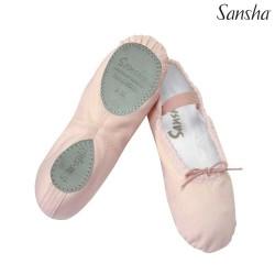 Baletki dla dzieci Sansha STAR Split 15C BLACK
