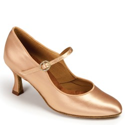 Buty damskie do standardu ICS CLASSIC FLESH SATIN