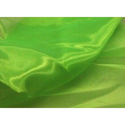 Organza Crystal FLUORESCENT GREEN