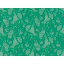 Koronka Floral Cascade STRETCH LACE kolor COOL AQUA