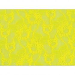 Koronka Floral Cascade STRETCH LACE kolor SASSY YELLOW