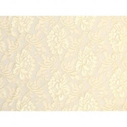Koronka  Flower STRETCH LACE kolor CREAM