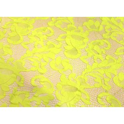 Koronka  Geometric STRETCH LACE kolor TROPIC LIME