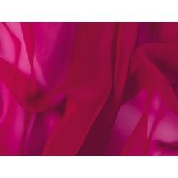 Luxury Georgette CHERRY RED