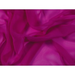Luxury Georgette FUCHSIA PINK